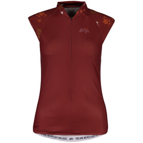 Maloja ViagravaM. Sleeveless Bike Jersey Women maroon